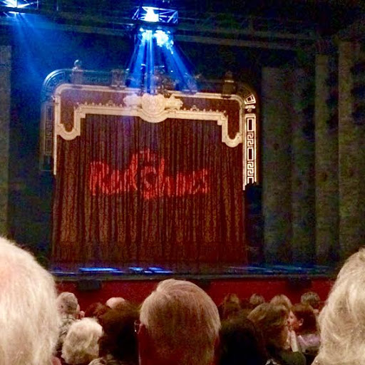 the red shoes backdrop