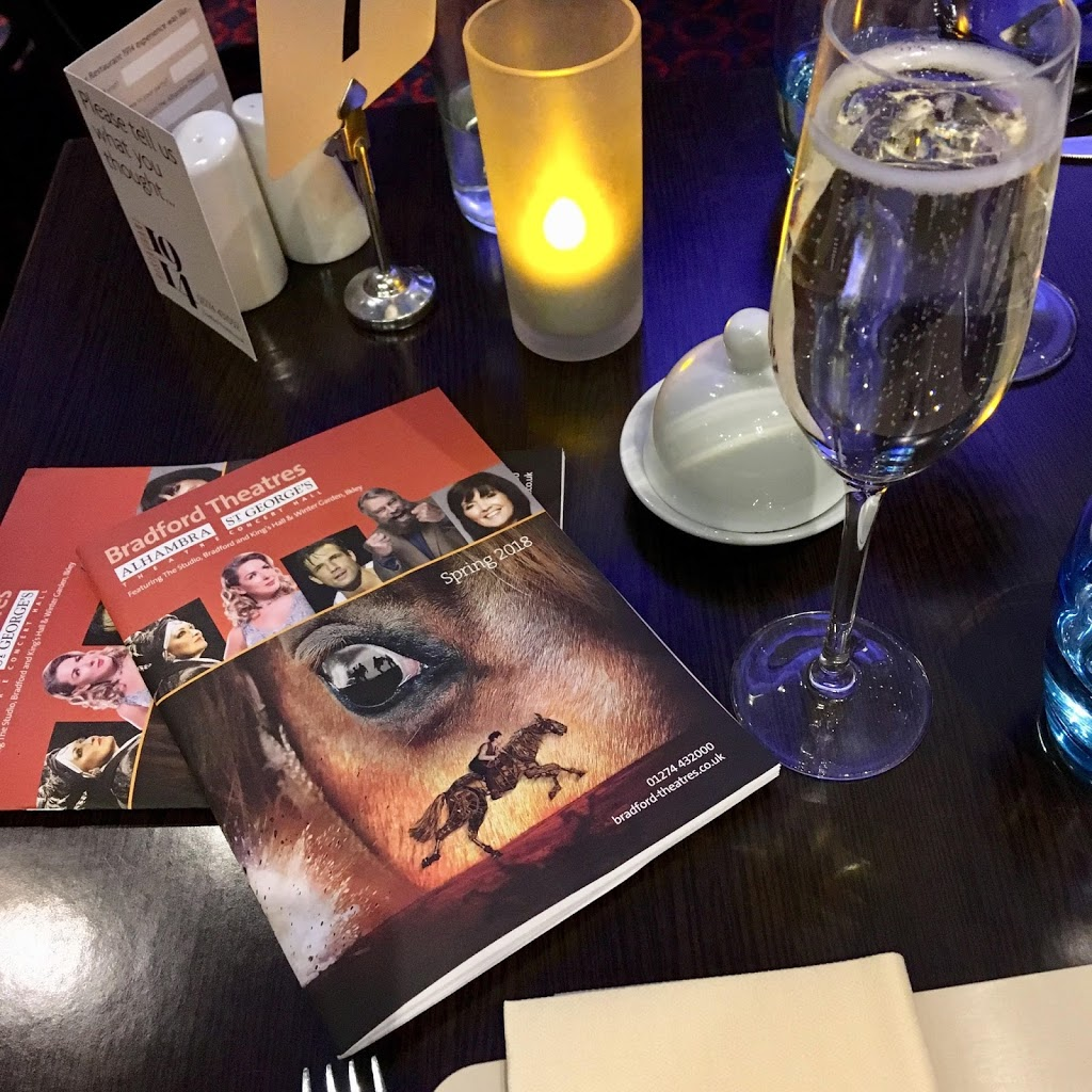 prosecco and theatre programme