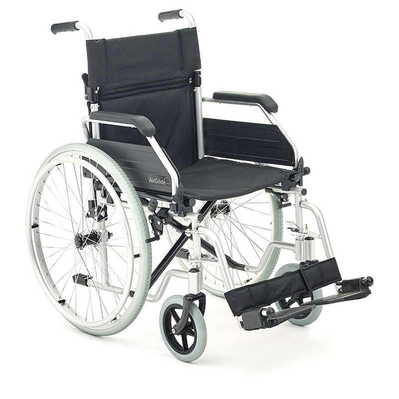 product image of careco airglide wheelchair, on white background