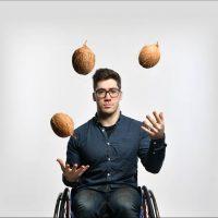 Disabled Coconut – Aaron Simmonds, Great Yorkshire Fringe 2019 (Edinburgh Fringe Preview)