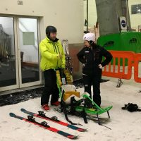 Adaptive Skiing and Disability Snowsport with Snozone Castleford, Yorkshire [AD]