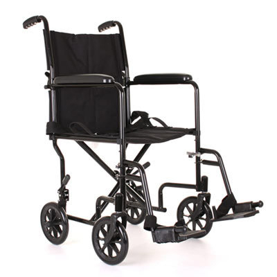 careco black transit wheelchair